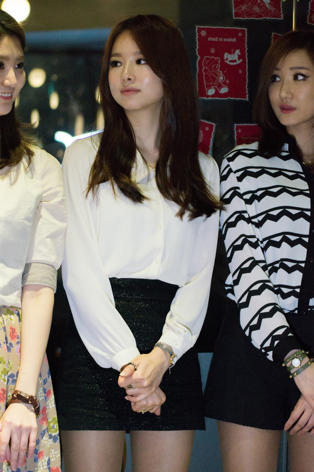 "[FANTAKEN] 140314 EXID @ Mango Six ""Romantic White Day"" event"