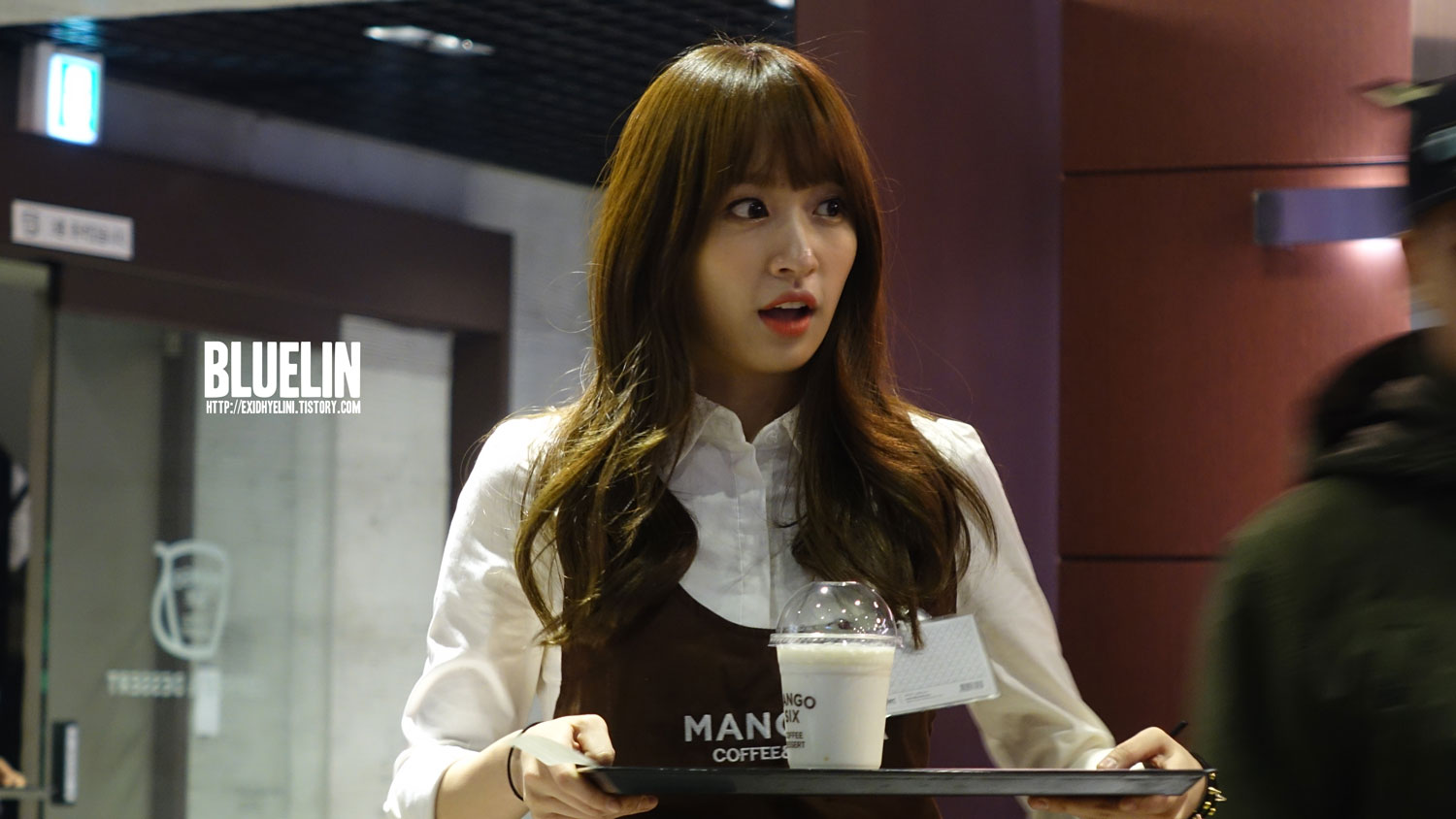 "[FANTAKEN] 140314 EXID's HANI @ Mango Six ""Romantic White Day"" event"