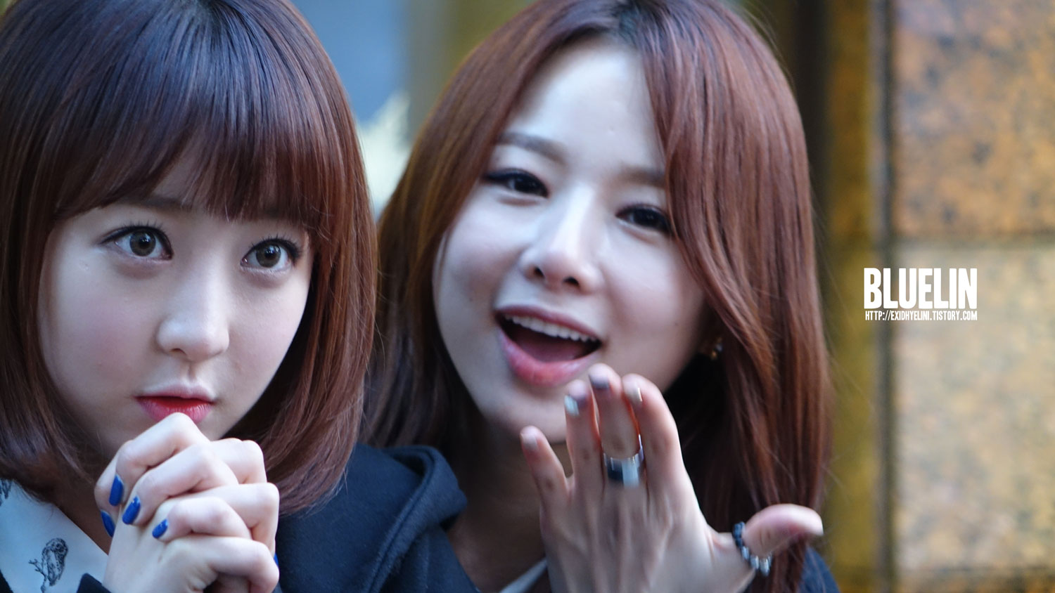 "[FANTAKEN] 140314 EXID's Solji @ Mango Six ""Romantic White Day"" event"