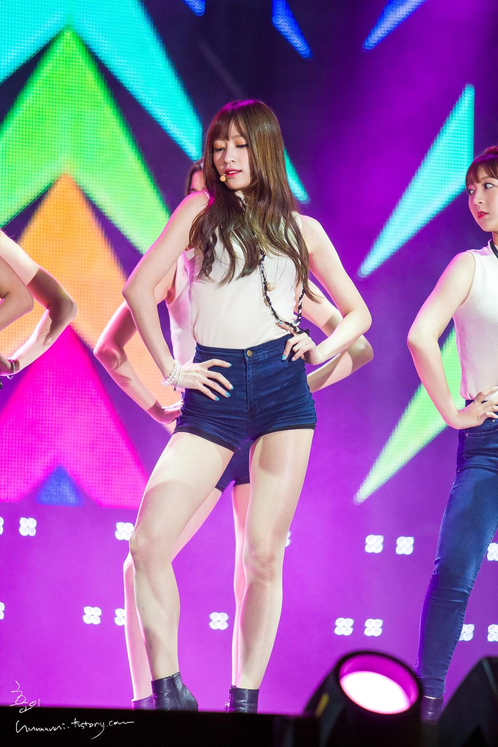 [HQ/FANTAKEN] 140921 EXID at MBC Idol Music Festival – Kpop Expo in Asia byhunnnnni