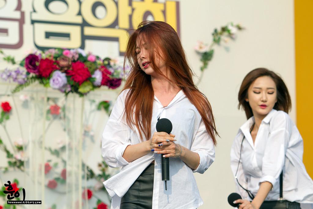 [HQ/FANTAKEN] 140927 EXID at OBS Public Broadcast (Ginseng Festival) byhunnnnni