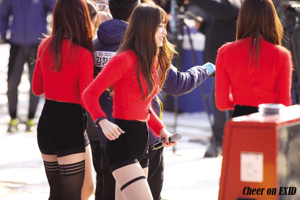 [HQ/FANTAKEN] 141214 Hani at KBS Dream TeamRecording