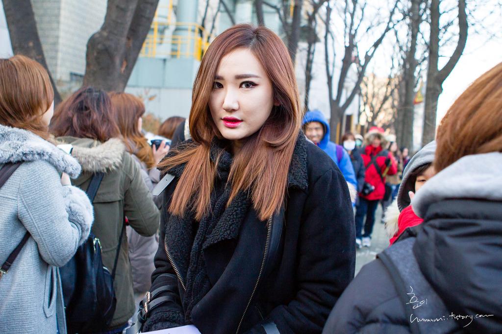 [HQ/FANTAKEN] 141205 EXID arriving at Music Bank Byhunnnnni