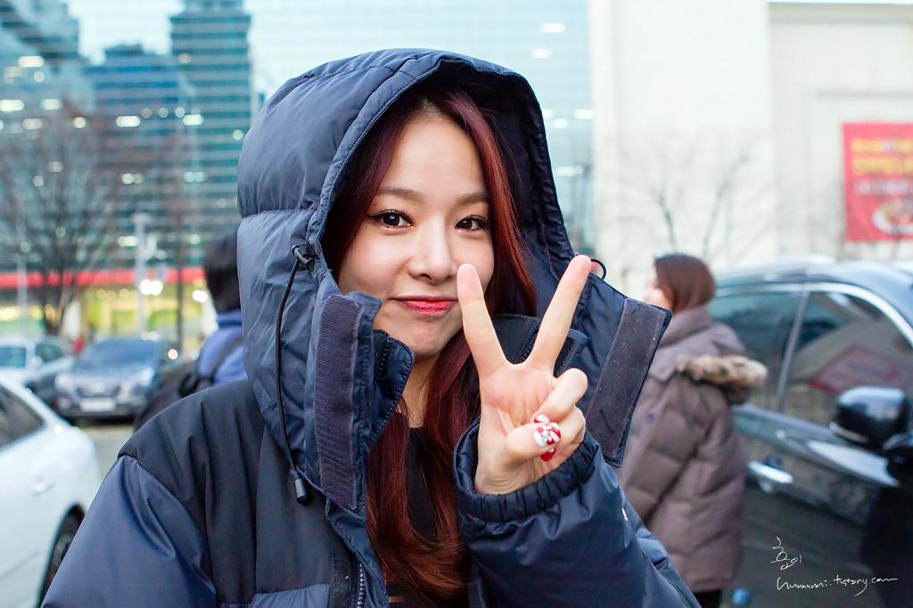 [HQ/FANTAKEN] 14.12.11 EXID at SBS Kim Chang Ryul's Old School Radio Byhuuuuui
