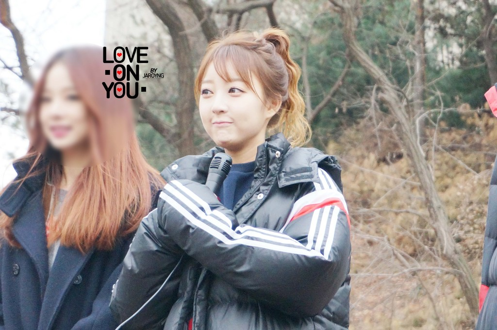[HQ/FANTAKEN] 150118 Hyelin at Inkigayo Fan Meeting