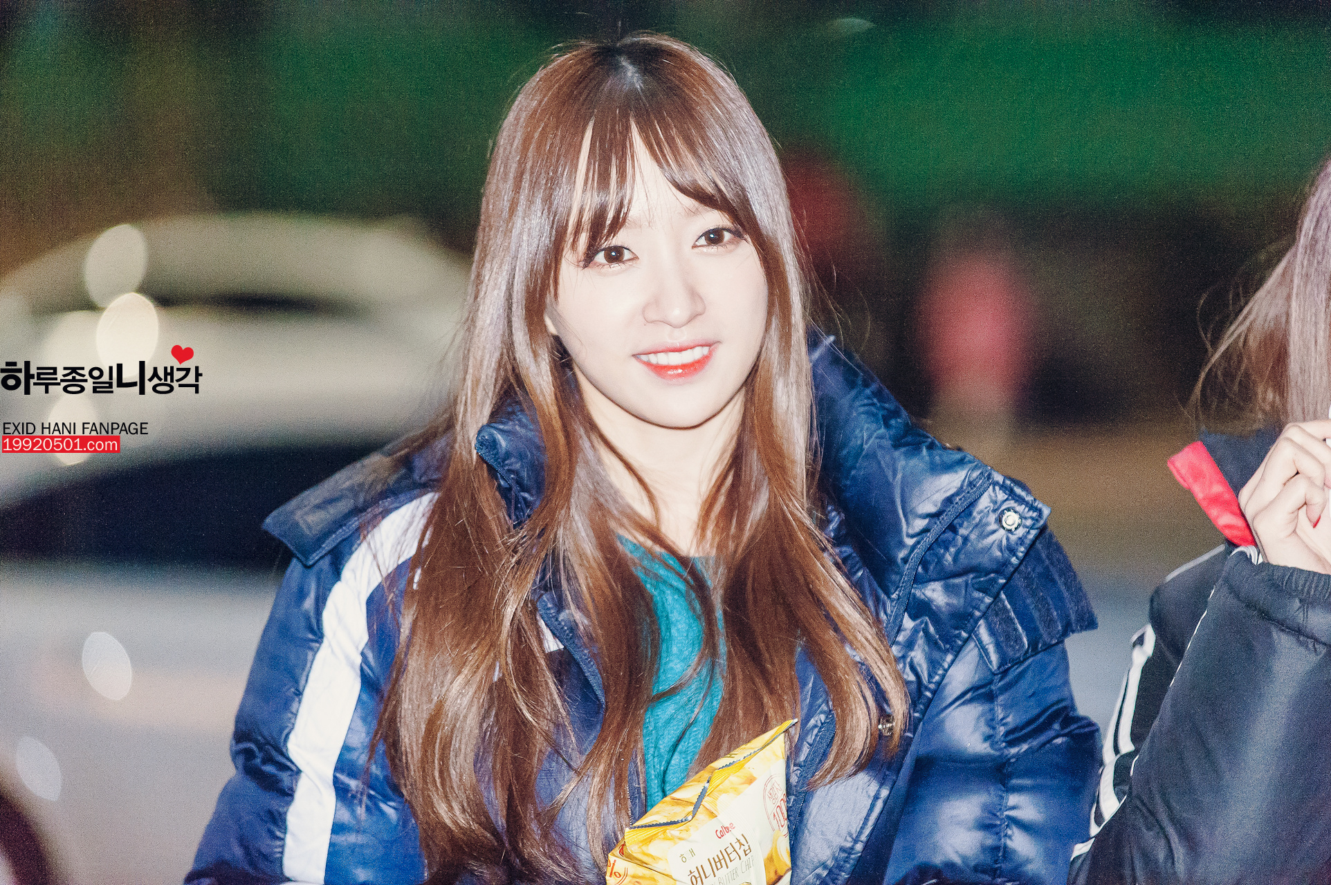 [HQ/FANTAKEN] 150110 Hani at Show! Music Core Mini fanmeeting