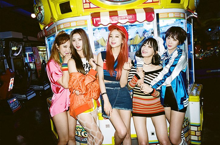 "[OFFICIAL] EXID 1st ALBUM ""STREET"" IMAGE TEASER(SET1)"